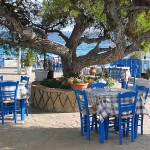 Terrasje op Aegina