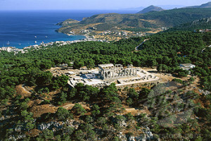 Greece, Aegina island, Aphaia temple