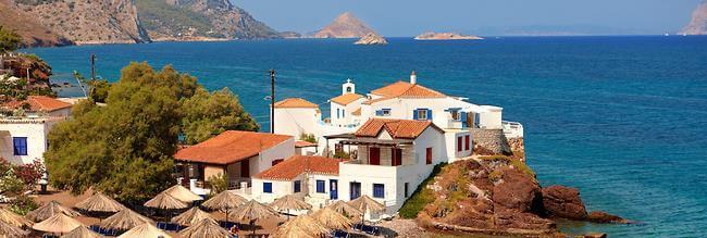 Saronische eilanden Griekenland