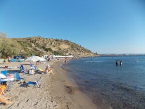 Marathonas strand Aegina