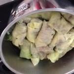 Gevulde koolrolletjes koken