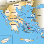 Cycladen Griekenland