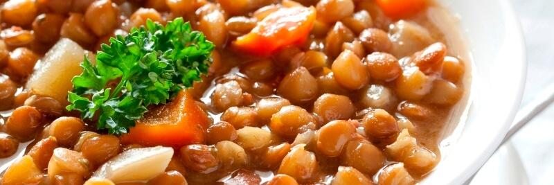 Fakes Griekse Linzensoep vegetarisch